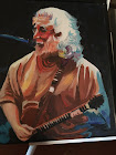 My painting from a photo of Jerry Garcia