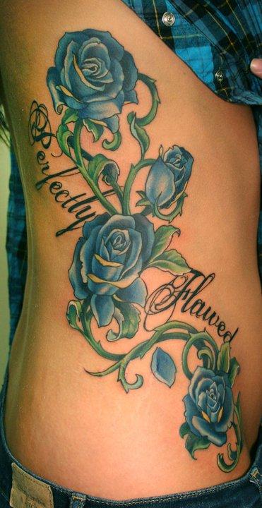Rosas Na Perna