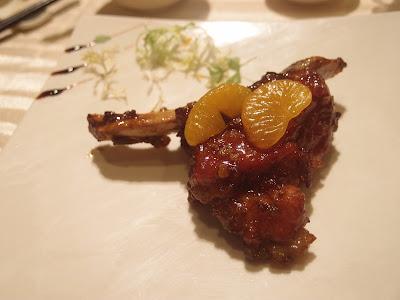 金桔蜜汁肉骨