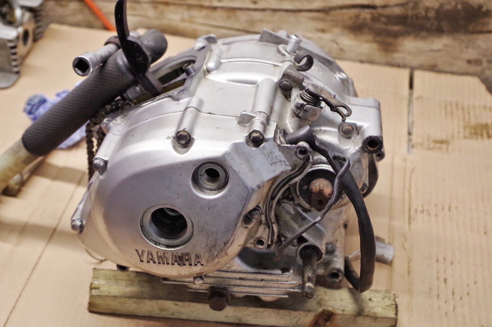 Yamaha YBR 125 Owner Blog : Yamaha YBR 125 blog flywheel - rotor ...