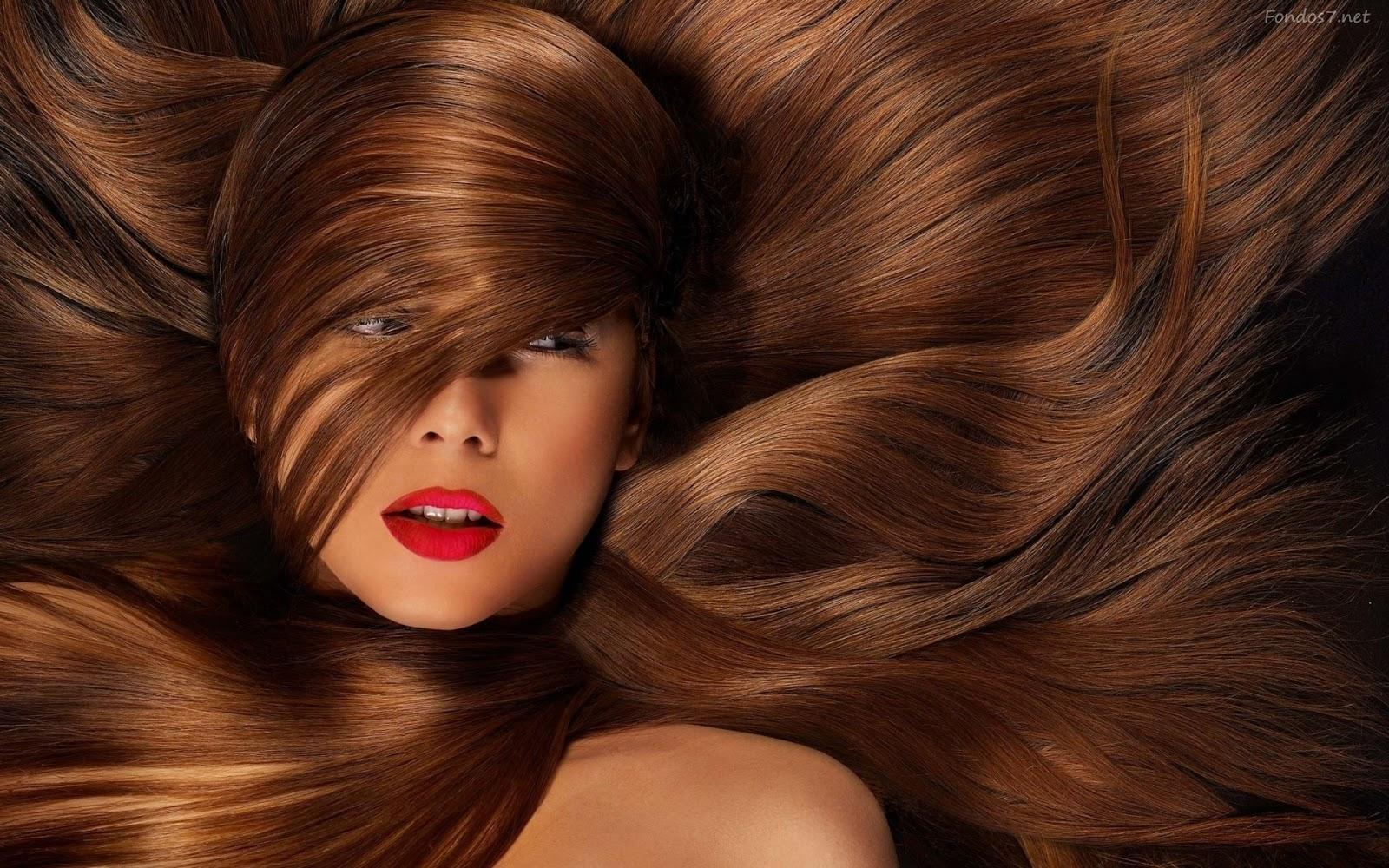 Как придать блеск волосам в 100
