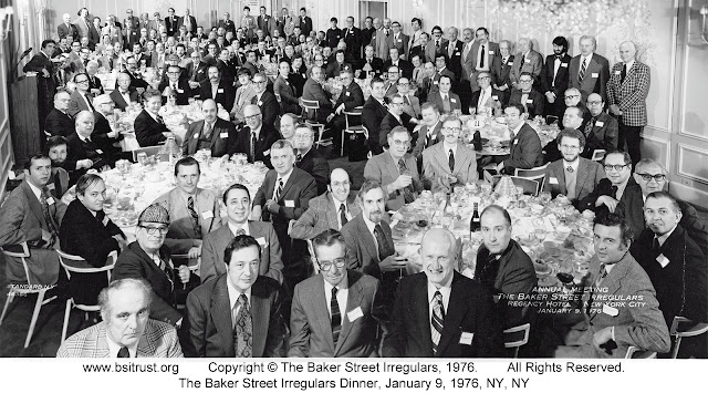 The 1976 BSI Dinner group photo