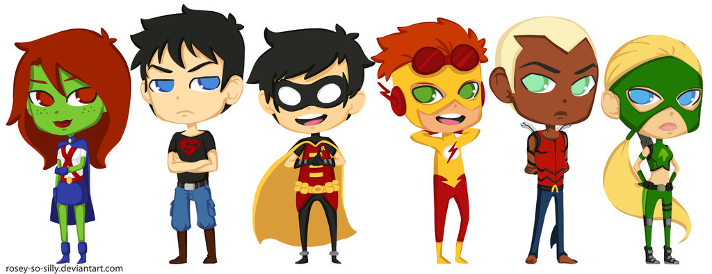 toon young justice by rosey so silly d37bs9l Hot threesome