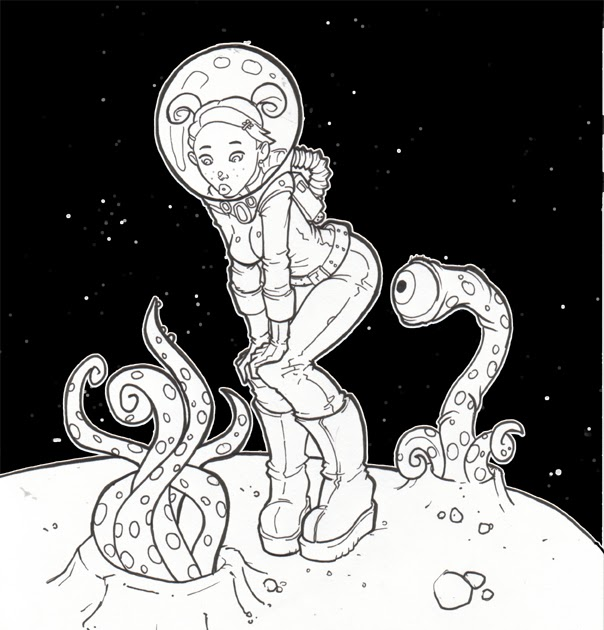 Shades of Gray: Space Girl Adventures, Part Ten