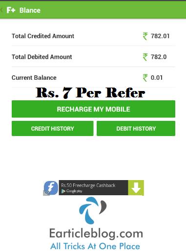 Freeplus recharge
