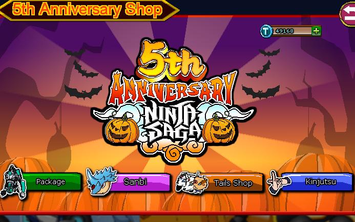 Halloween Event Ninja Saga 2014
