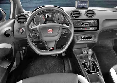 Interior de Seat Ibiza