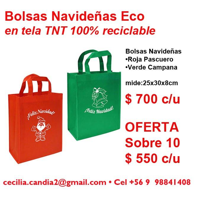Bolsas Eco Navideñas