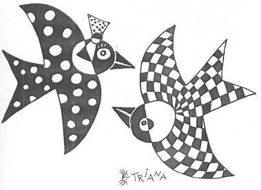dibujo de Ernesto triana López - Cuba