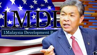 AS tidak pandang isu 1MDB-Zahid