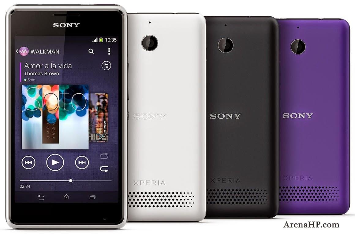 spesifikasi dan harga Sony Xperia E1 terbaru