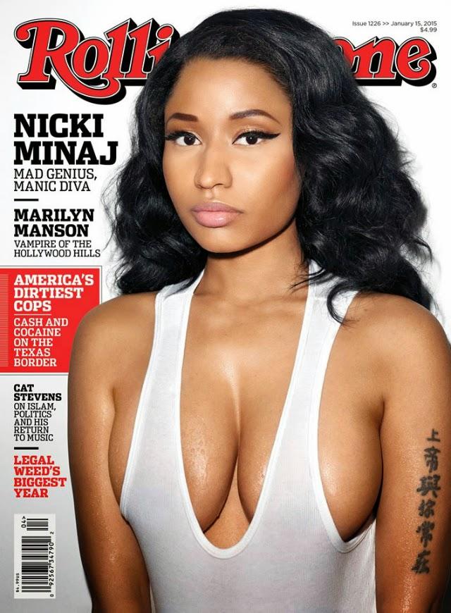 Nicki Minaj portada de la revista Rolling Stone