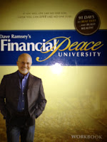 Book cover of fiancial peacy by Dave Ramsey