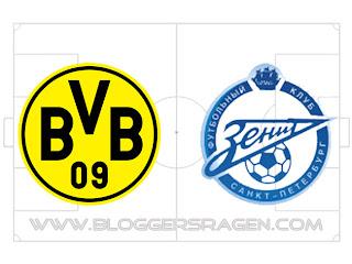 Prediksi Pertandingan Zenit vs Borussia Dortmund