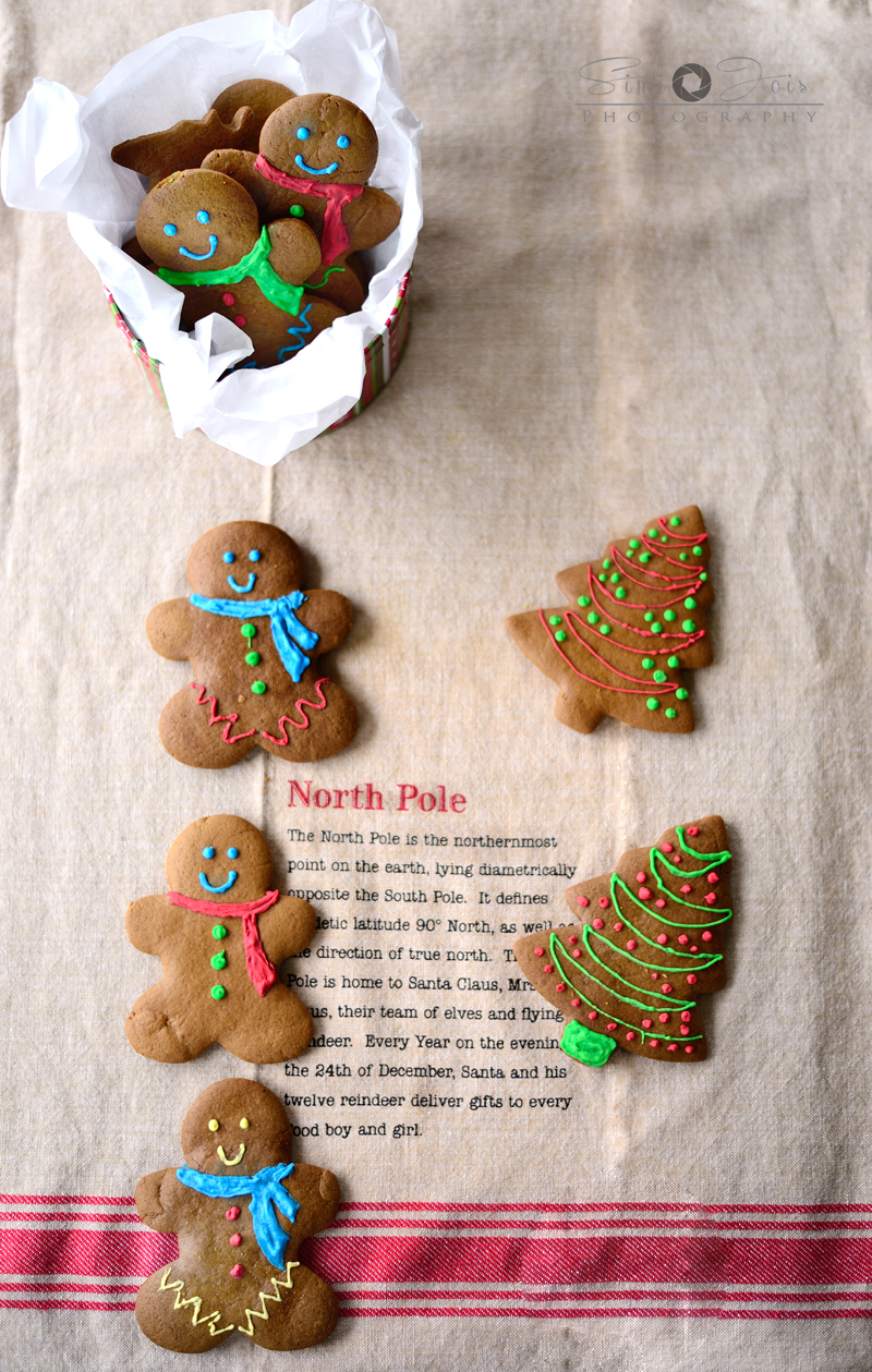 Soft and chewy gingerbread man cookies with holiday spices, made from scratch
