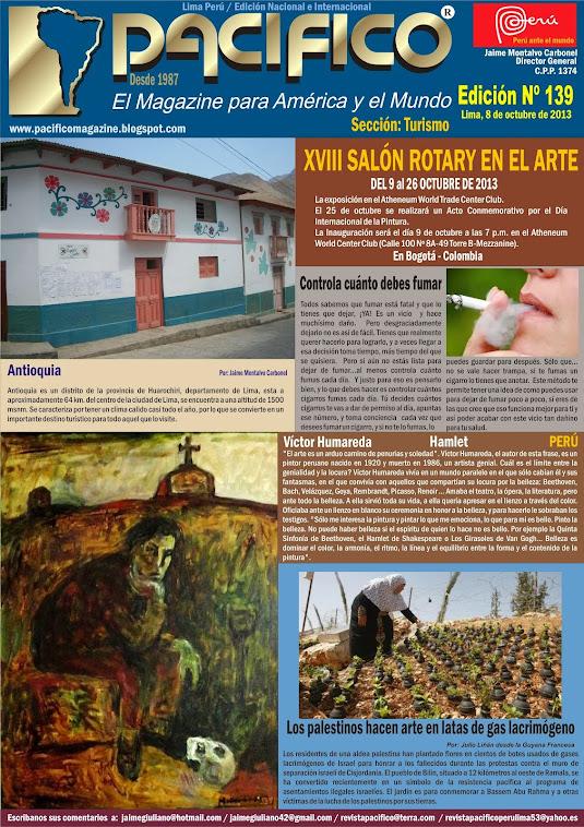 Revista Pacífico Nº 139 Turismo