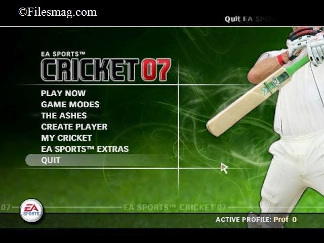 Free Download EA Sports Cricket 2007 Game