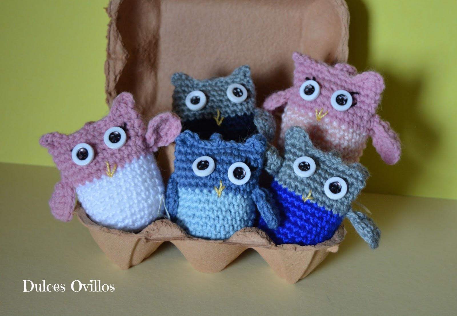 Búhos a crochet - Crochet owls - Handbox Craft Lovers | Comunidad ...