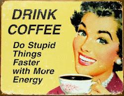 Kahve en büyük keyfim..
