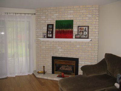 Art For Your Walls, Decor For Your Home: My Fireplace Makeover