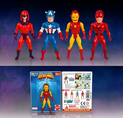 Marvel's Secret Wars Micro Bobbles Series 2 by Gentle Giant - Magento, Captain America, Iron Man & Daredevil
