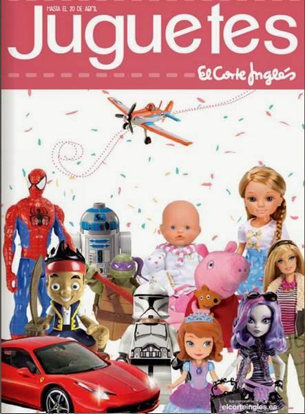 El Corte Ingles juguetes de abril 2014