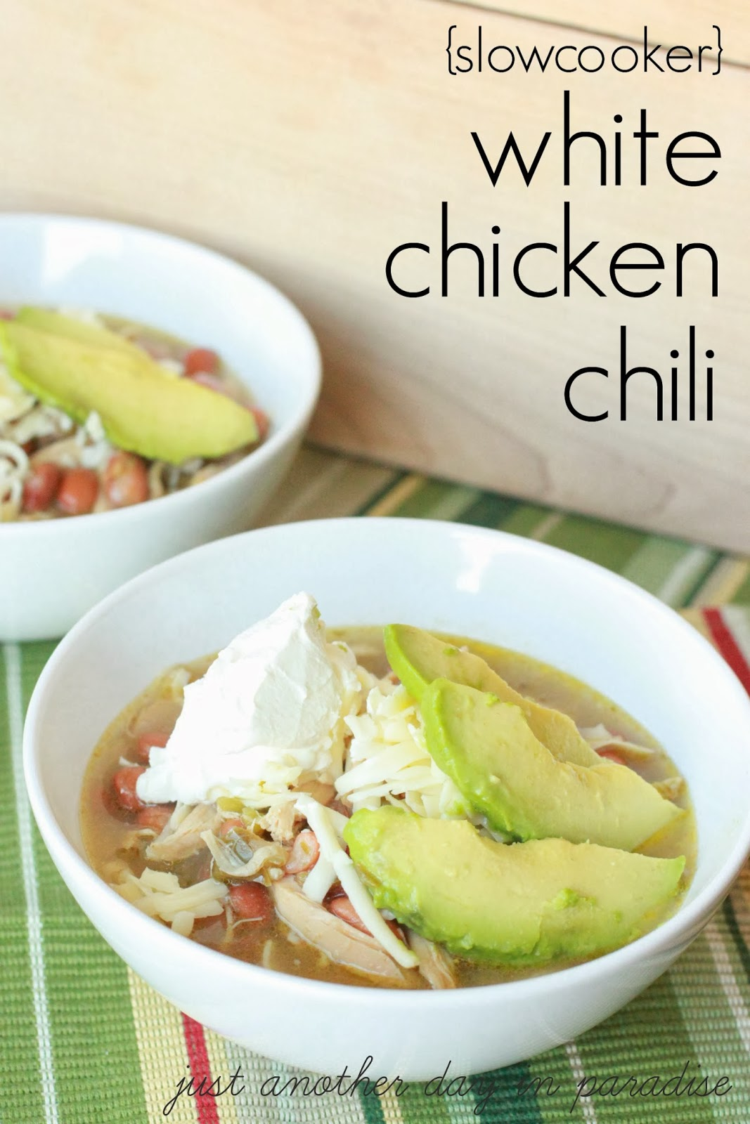 Larissa Another Day: White Chicken Chili (Slow Cooker Saturday)