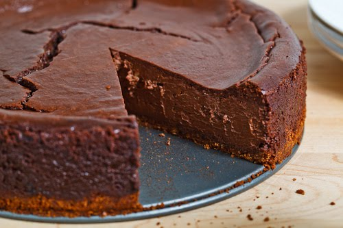 Chocolate Cheesecake with Guinness