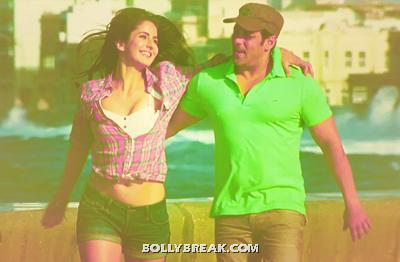 Katrina Kaif Navel Show in Ek Tha Tiger - Katrina Kaif Navel Pic from Ek Tha Tiger