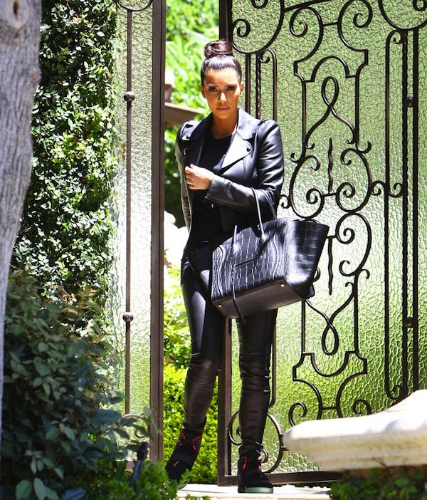 mini luggage celine price - The Beauty and Style Diary: Kim Kardashian, All Black Everything ...