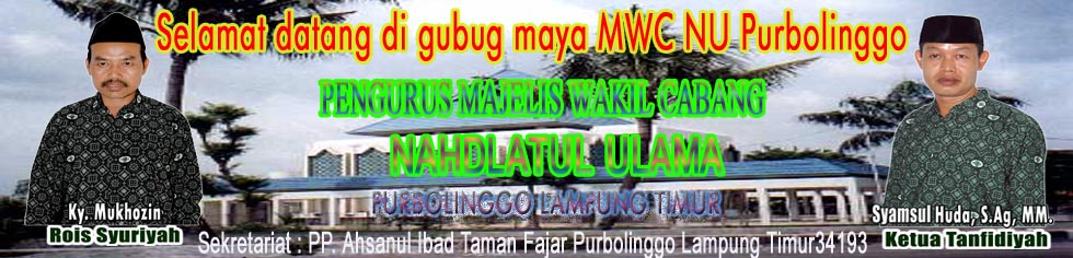 MWC NU Purbolinggo Lampung Timur