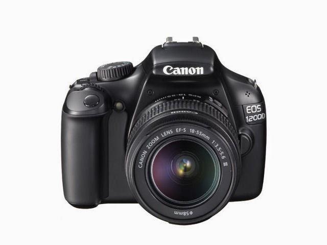 Canon EOS 1200D Máy DSLR cho người mới bắt đầu