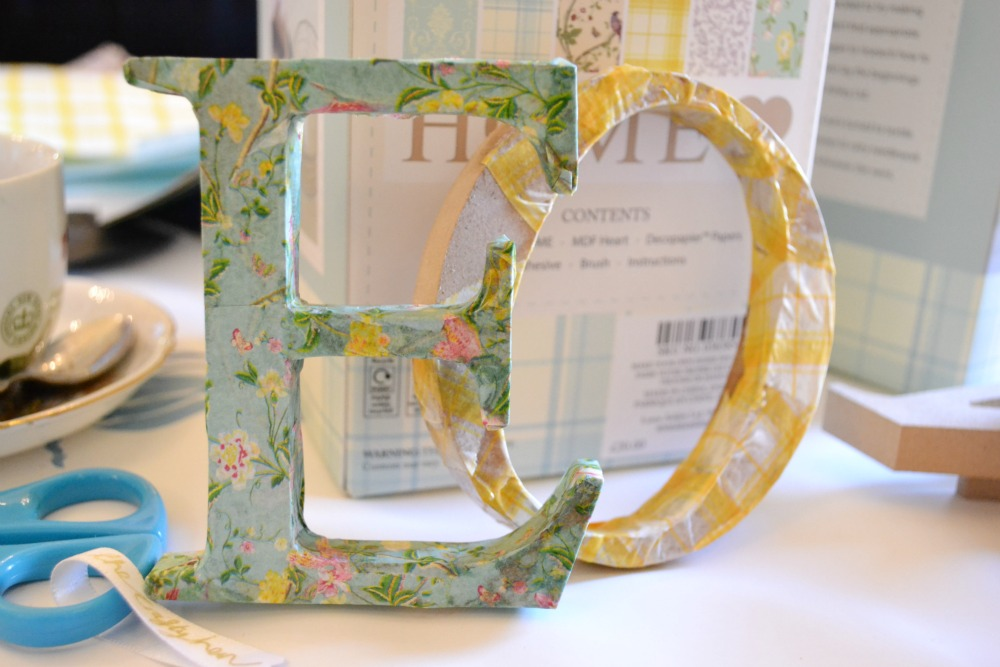 decoupage letters laura ashley christmas gifts