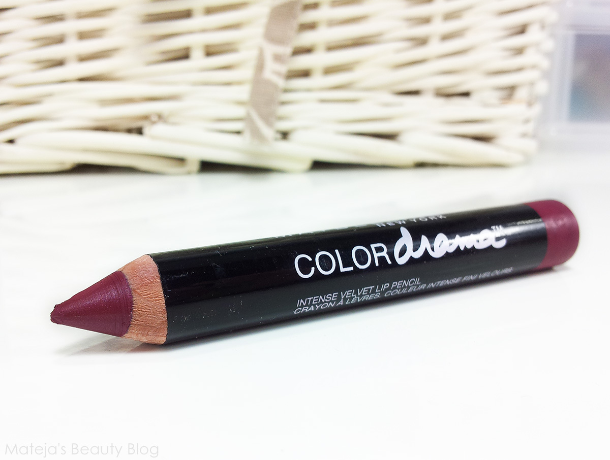 Maybelline Color Drama Lipstick Berry Much Matejas Beauty Blog Krezi Kamis 26 Bourjois Rouge Edition Velvet