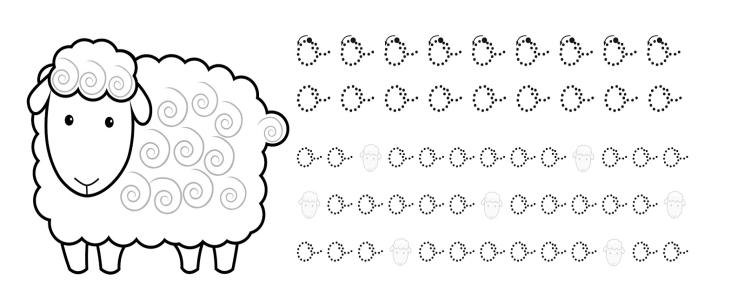 Fichas de caligrafía para niños de primaria para imprimir gratis ...