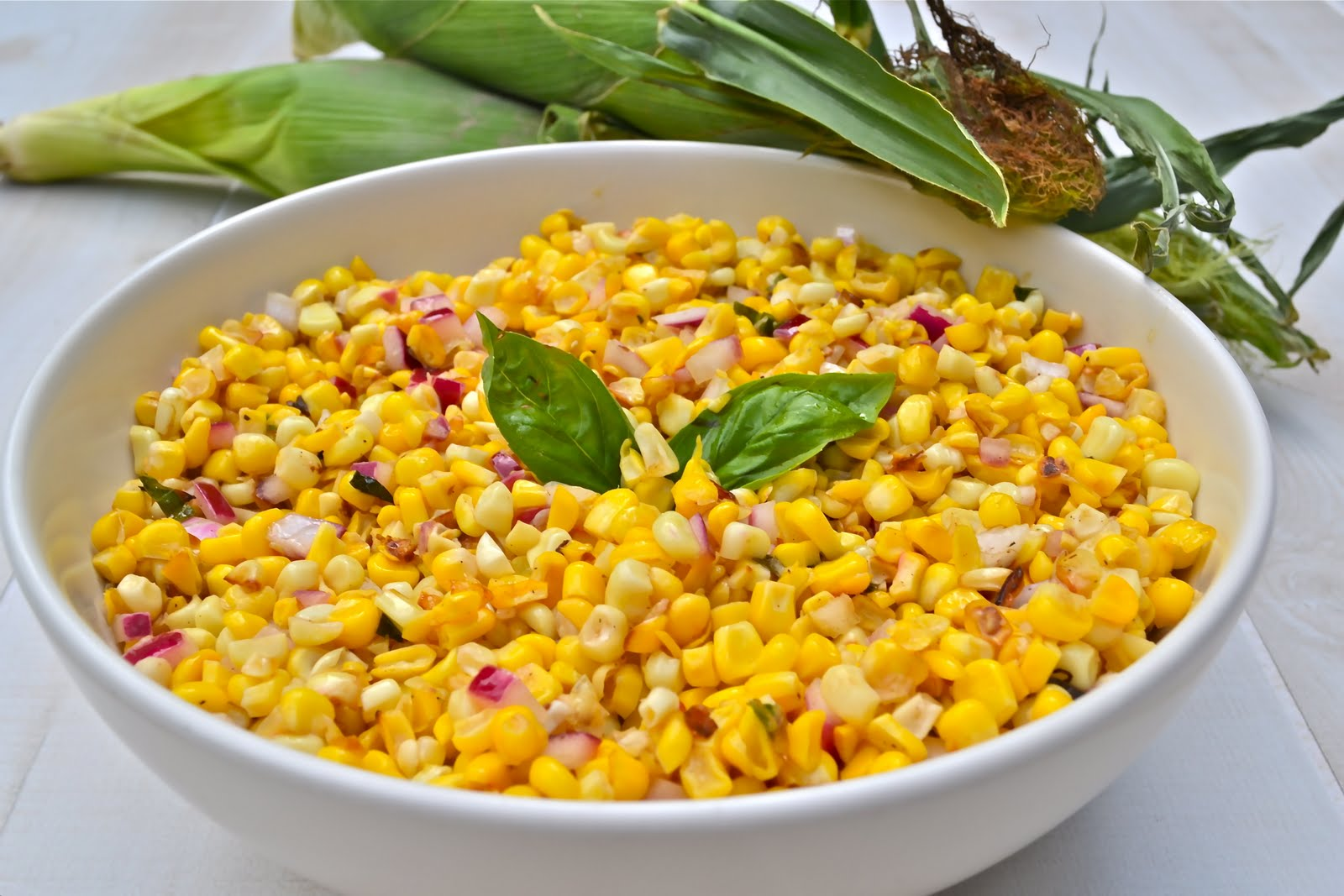 ... when i was pregnant with the twins i craved sweet fresh corn on the