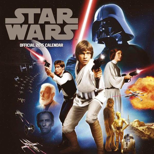 Calendario Star Wars 2015