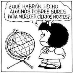 Mafalda - sures y nortes