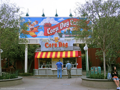 Corn Dog Castle Disney California Adventure Paradise Pier dogs