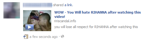 Rihanna Scandal Video