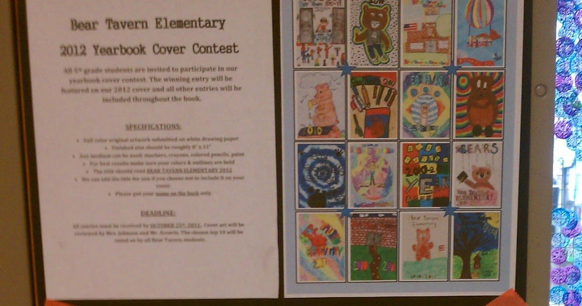 Book Cover Art Contest : Art rocks bt year book cover contest