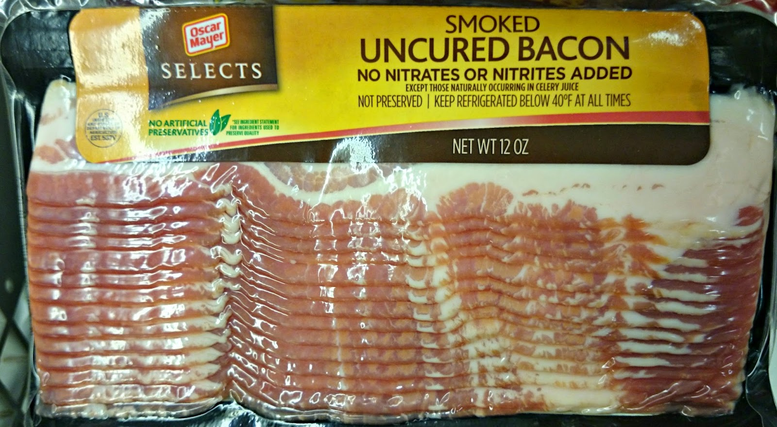 P3 Nutrition Label Oscar Mayer also Houston Tx as well Schertz further Edible Idol Blt further Low Calorie Bacon Recipes. on oscar mayer naturals bacon