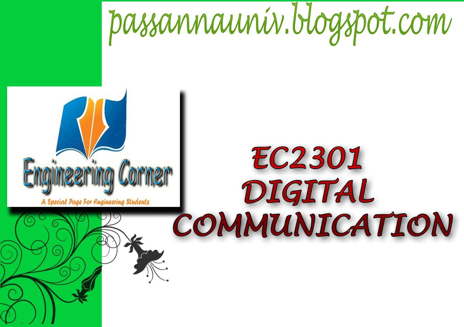 digital communication: