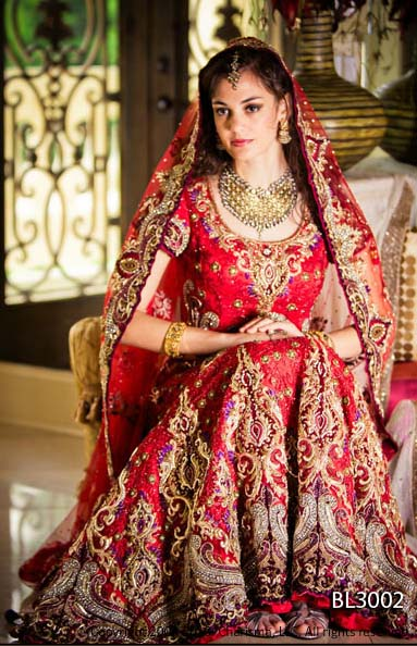 Indian charisma bridal lehenga l latest party wear bridal for Most expensive wedding dress in india