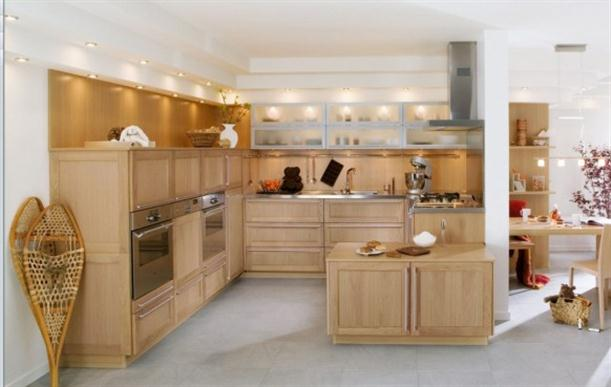 Luxury And Modern Kitchen Wood In France By Perene