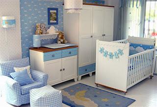 decoração quarto de bebe menino