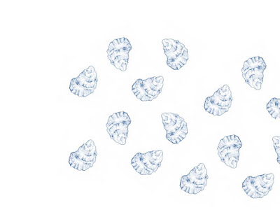 Image of oyster pattern
