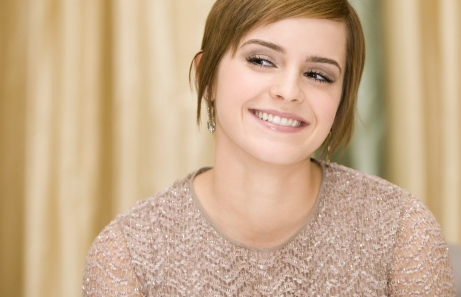 Cute Smiling Emma Watson