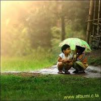 Hujan, dan keromantisan