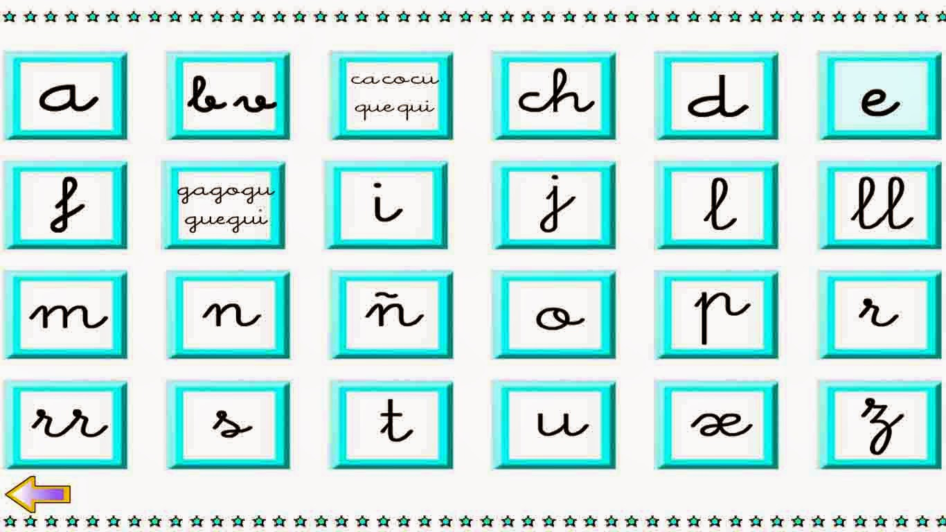 Aprende las letras